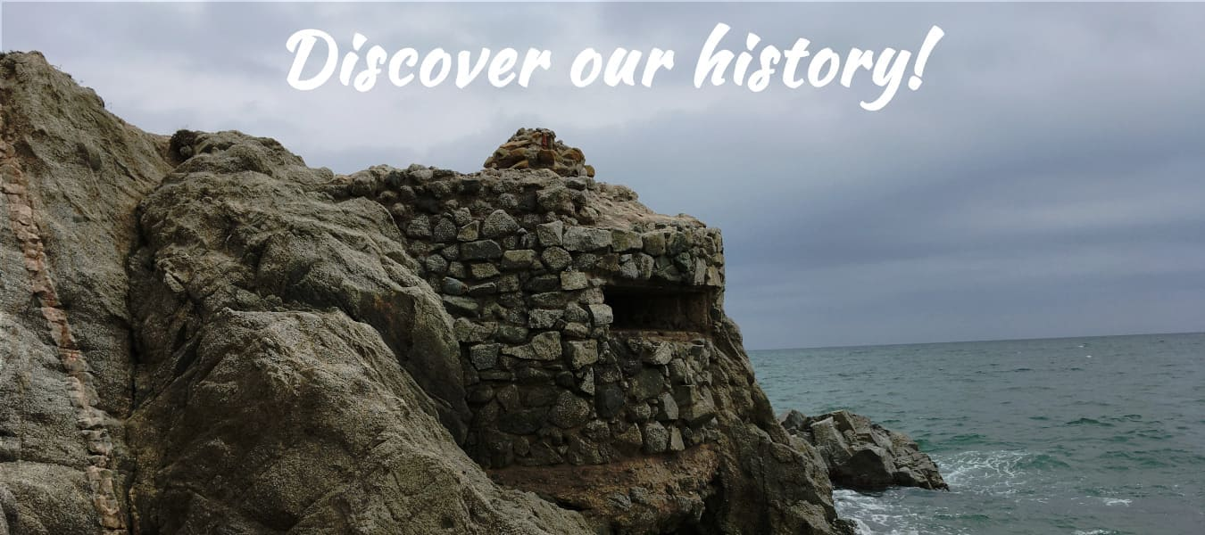 Discover our history - Bunker of the beach of the Musclera of Arenys de Mar - COOLTUR Cultural Tourism - slider