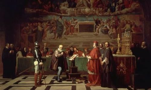 Galileo before the Holy Office Joseph Nicolas Robert Fleury XIX